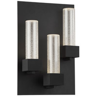 Solato LED 18 inch Black Outdoor Wall Sconce