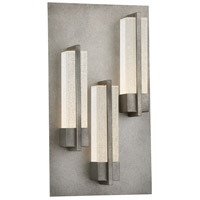 EuroFase 33693-019 Pari LED 18 inch Antique Silver Outdoor Wall Sconce