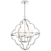 EuroFase 33705-019 Douville 4 Light 23 inch Chrome Chandelier Ceiling Light