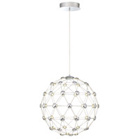 EuroFase 33721-019 Siena LED 21 inch Chrome Chandelier Ceiling Light