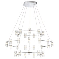Netto LED 41 inch Chrome Chandelier Ceiling Light