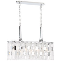 EuroFase 33742-014 Viviana 7 Light 11 inch Chrome Chandelier Ceiling Light