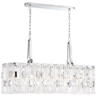 EuroFase 33743-011 Viviana 9 Light 11 inch Chrome Chandelier Ceiling Light