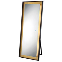 Signature 65 X 26 inch Black Floor Mirror