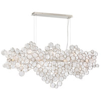 Trento 15 Light 11 inch Champagne Silver Chandelier Ceiling Light