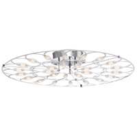 EuroFase 34068-014 Rotolo LED 28 inch Chrome Surface Mount Ceiling Light