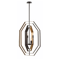 EuroFase 34075-012 Montcalm 4 Light 14 inch Bronze Chandelier Ceiling Light