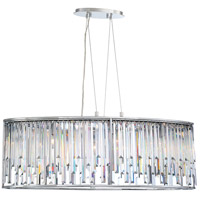 EuroFase 34078-013 Genova 8 Light 20 inch Chrome Chandelier Ceiling Light