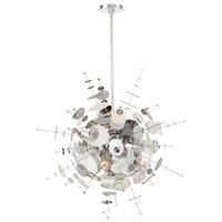 EuroFase 34083-024 Bonazzi 9 Light 29 inch Chrome Chandelier Ceiling Light