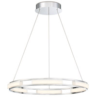 Fanton LED 25 inch Chrome Chandelier Ceiling Light