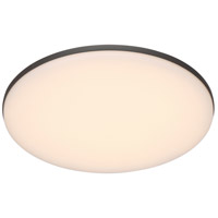 EuroFase 34118-016 Signature LED 12 inch Graphite Grey Flush Mount Ceiling Light