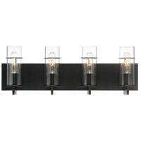 EuroFase 34135-039 Pista LED 26 inch Black Vanity Light Wall Light