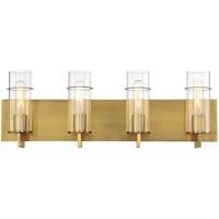 EuroFase 34135-047 Pista LED 26 inch Gold Vanity Light Wall Light