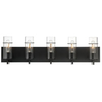 EuroFase 34136-031 Pista LED 34 inch Black Vanity Light Wall Light