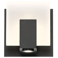 EuroFase 34142-029 Canmore LED 5 inch Black Wall Sconce Wall Light