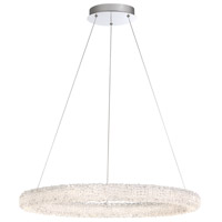 Sassi LED 27 inch Chrome Chandelier Ceiling Light