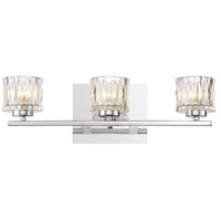 EuroFase 34160-015 Guelph LED 18 inch Chrome Vanity Light Wall Light