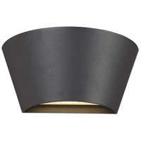 EuroFase 34175-026 Signature LED 5 inch Graphite Grey Outdoor Wall Sconce