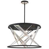 EuroFase 35644-019 Sarise LED 28 inch Black Chandelier Ceiling Light