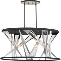 EuroFase 35645-016 Sarise LED 14 inch Black Chandelier Ceiling Light