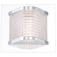 EuroFase 35718-017 Belgroue LED 6 inch Chrome Wall Sconce Wall Light