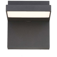EuroFase 35856-016 Signature LED 6 inch Graphite Grey Outdoor Wall Sconce