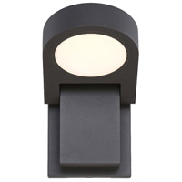 EuroFase 35857-013 Signature LED 5 inch Graphite Grey Outdoor Wall Sconce