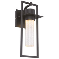 Signature LED 15 inch Black Outdoor Wall Sconce