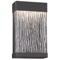 EuroFase 35891-017 Ontario LED 11 inch Black Outdoor Wall Mount Small