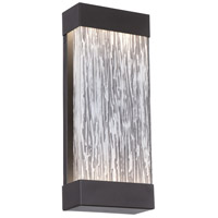 EuroFase 35892-014 Ontario LED 17 inch Black Outdoor Wall Mount Large