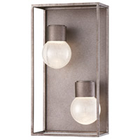 EuroFase 35933-014 Gibson LED 8 inch Antique Silver Wall Sconce Wall Light