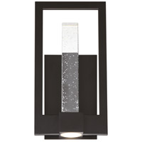Hanson LED 14 inch Black Outdoor Wall Sconce