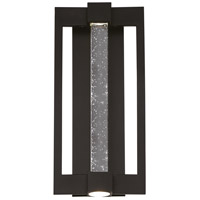 Hanson LED 20 inch Black Outdoor Wall Sconce