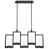 EuroFase 35949-015 Hanson LED 2 inch Black Chandelier Ceiling Light