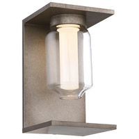 Graydon LED 10 inch Antique Grey Outdoor Wall Sconce