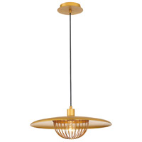 EuroFase 35952-015 Landigo 1 Light 18 inch Antique Brass Pendant Ceiling Light