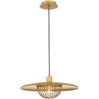 EuroFase 35952-015 Landigo 1 Light 18 inch Antique Brass Pendant Ceiling Light