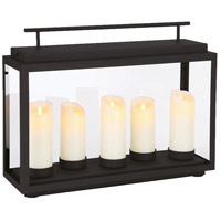 EuroFase 35981-015 Cathedral LED 7 inch Sand Black Outdoor Lantern