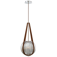 EuroFase 35990-031 Rosemount 1 Light 12 inch Chrome Pendant Ceiling Light