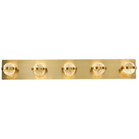 EuroFase 37071-028 Ryder LED 33 inch Gold Vanity Light Wall Light