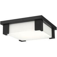 EuroFase 37075-019 Thornhill LED 12 inch Black Flush Mount Ceiling Light