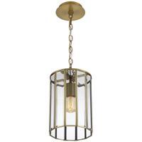EuroFase 37084-011 Saville 1 Light 8 inch Brass Pendant Ceiling Light