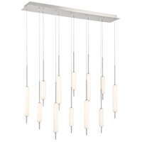 EuroFase 37236-042 Cumberland LED 7 inch Satin Nickel Chandelier Ceiling Light