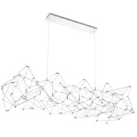 EuroFase 38036-019 Leonardelli LED 22 inch Chrome Chandelier Ceiling Light