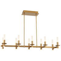 EuroFase 38441-011 Torna LED 13 inch Coffee Gold Chandelier Ceiling Light