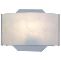 EuroFase SC-1DAK-05 Dakota 6 inch Chrome Wall Sconce Wall Light