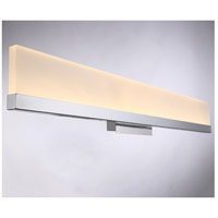 EuroFase 31805-018 Sole LED 32 inch Chrome Wall Sconce Wall Light alternative photo thumbnail
