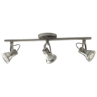 EuroFase TK-3VTX3-34 Vortex Satin Nickel Track Ceiling Light