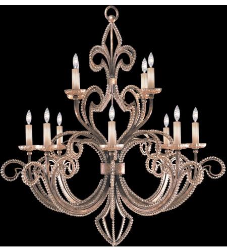 Fine Art Lamps 137140-2ST A Midsummer Nights Dream 12 Light 42 inch Gold  Chandelier Ceiling Light