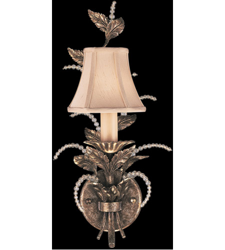Fine Art Lamps A Midsummer Nights Dream 1 Light Sconce in Cool Moonlit Patina 161550ST photo